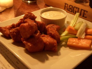 Spicy boneless buffalo wings