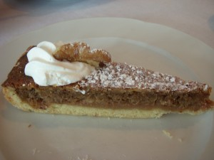 Really delicious walnut tart