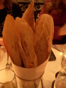 Chewy baguettes