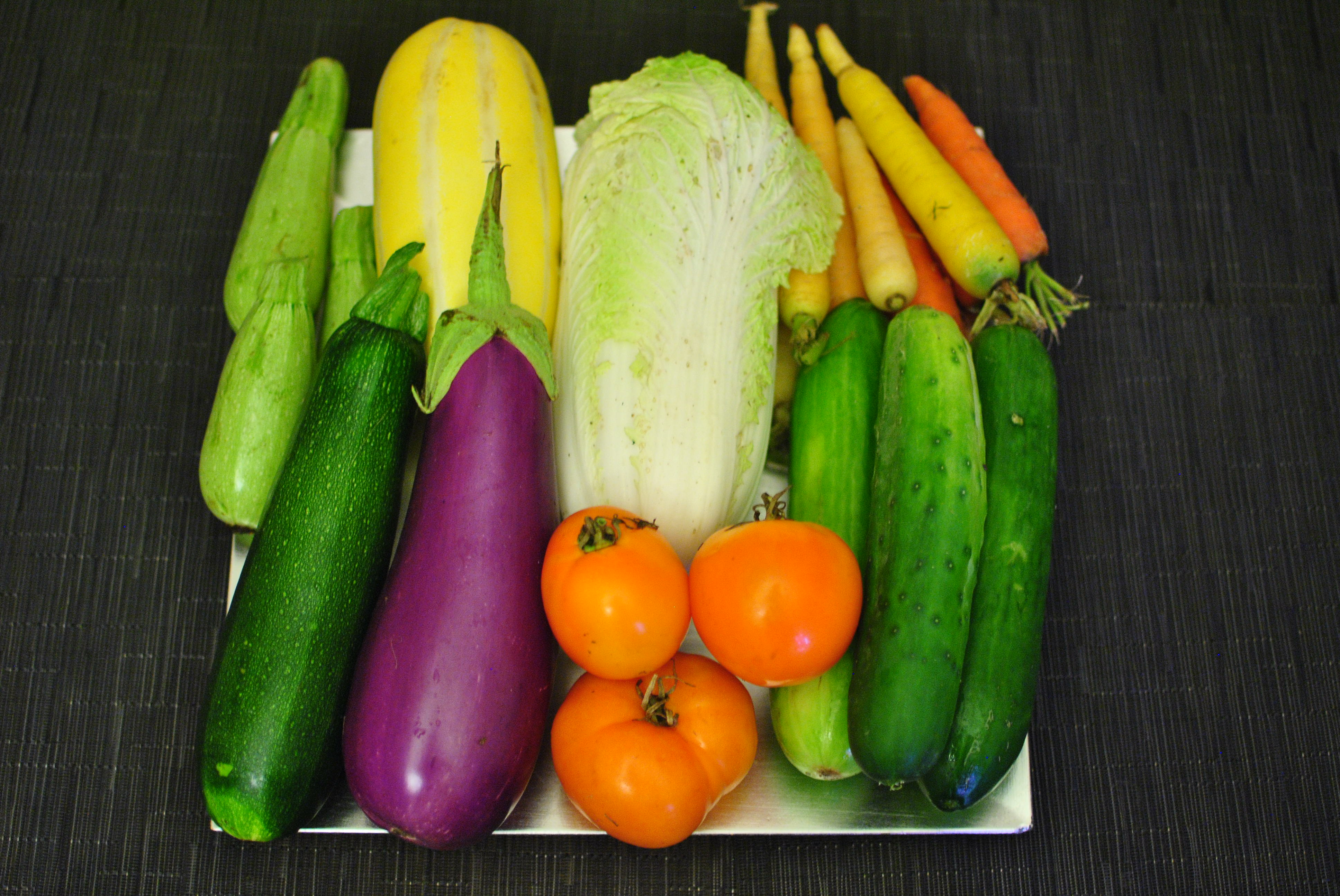Image result for pictures of cucumber, cabbage, egg plant together