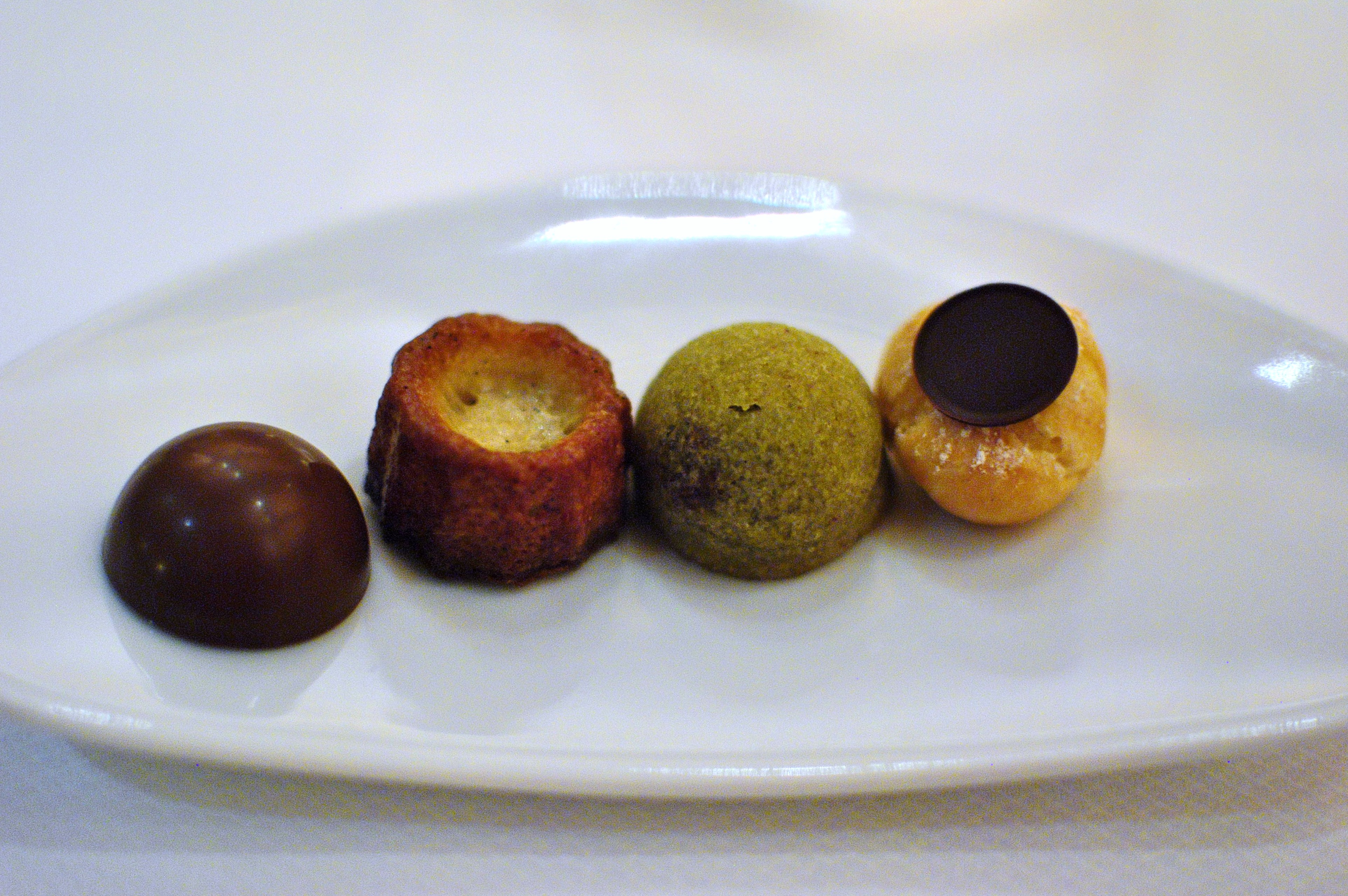 Pistachio Cherry Financiers Recipe — Dishmaps