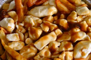 Tons of squeaky curds on the poutine