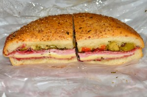 The original muffaletta from Central Grocery