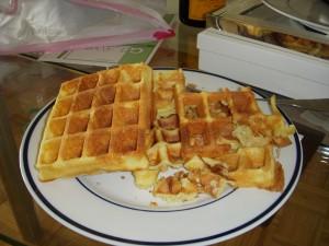 Broken waffles