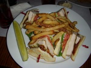 The best chicken club sandwich