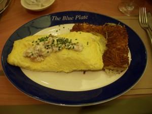"""""""Quiche Lorraine"""" omelet"""