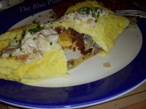 Omelet innards