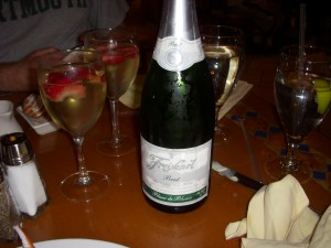Pretty decent cava (Spanish sparking wine)