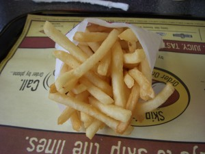 Skinny fries