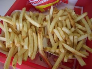 Piles of fries