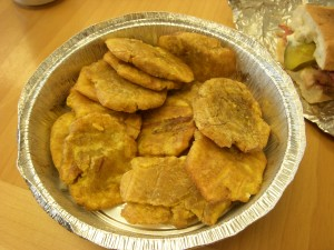 Sad and dry tostones