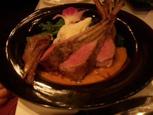 Rack of lamb rogan josh