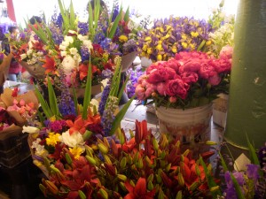 Really beautiful fresh cut flowers