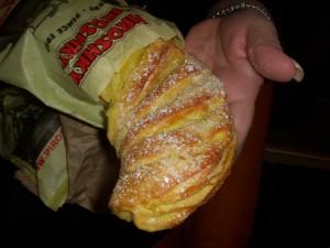 Marzipan roll