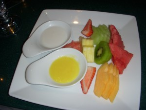 Fruit sashimi