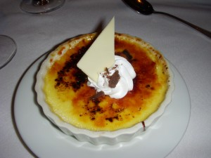 Honey creme brulee