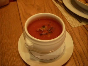 Bright and tasty gazpacho