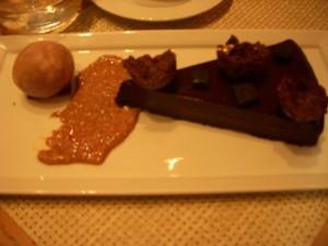Tart au chocolate