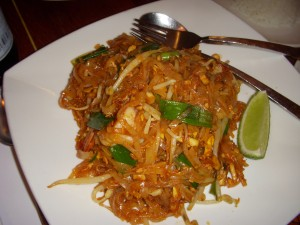 Pad thai, of course