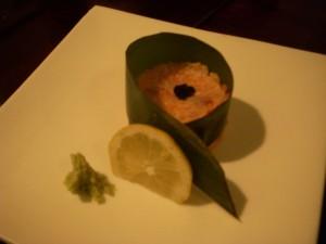 Hamachi tartare