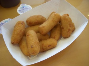 Crispy hush puppies
