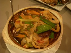 Intestine hot pot