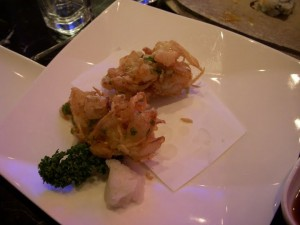 Shrimp and Scallop in the lightest tempura batter