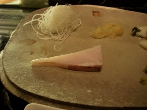 Sashimi - Taiwanese native fish