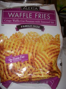 Alexia Frozen Waffle Fries