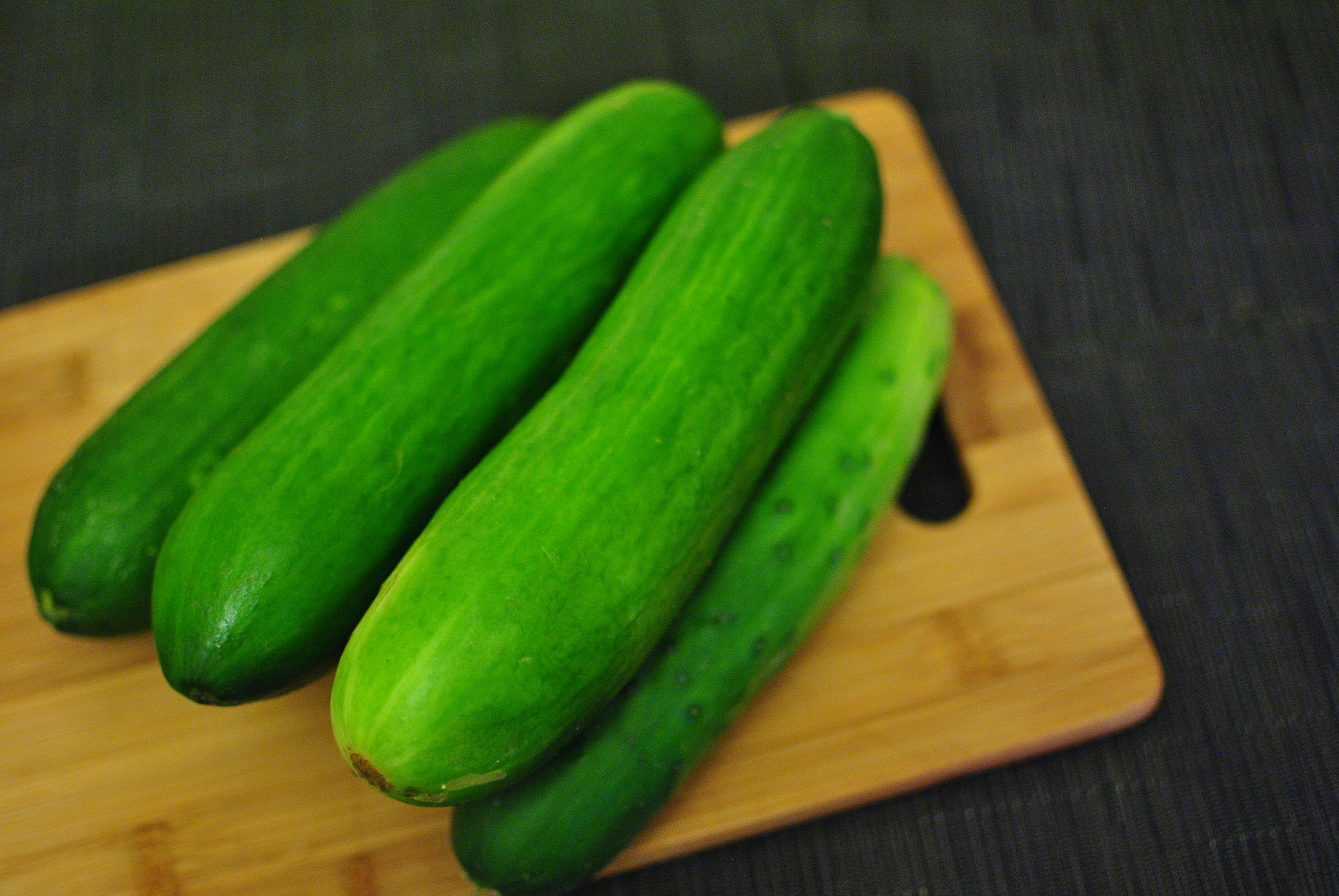 Cucumber in the ass