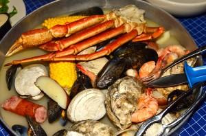 Seafood extravaganza -