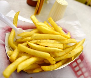 A side order of fries