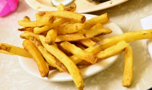 Piping hot french fries