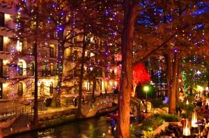 Endless strands of Christmas lights