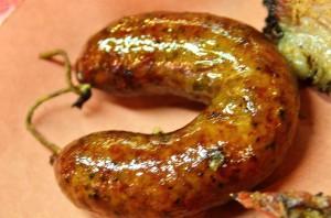 Black's Barbecue sausage