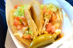 Puffy tacos from Ray's Drive Inn