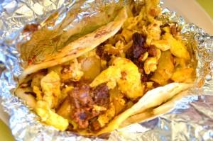 taco from El Milagrito