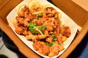 Thai chicken karaage